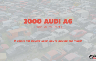 2000 Audi A6 Used Auto Parts