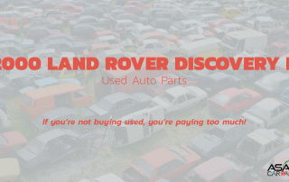 Used auto parts 2000 LAND ROVER DISCOVERY II