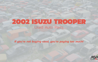 Used auto parts 2002 ISUZU TROOPER
