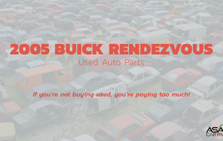 used auto parts 2005 BUICK RENDEZVOUS