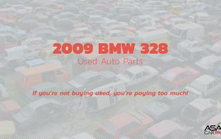 2009 BMW 328 Used Auto Parts