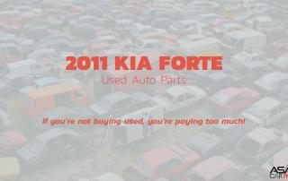 2001 Kia Forte Used Auto Parts